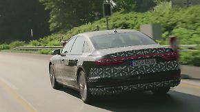 Komplett automatisiertes Fahren: Audi A8 übernimmt im Stau die Verantwortung