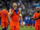 """""""Erniedrigende"""" Pleite in Paris: Robben beschwört """"armseliges Oranje"""""""