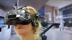 """""""Noch relativ teuer"""": Durchbruch der VR-Brille lässt auf sich warten"""