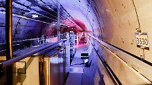 Weltgrößter Röntgenlaser: Forscher eröffnen European XFEL