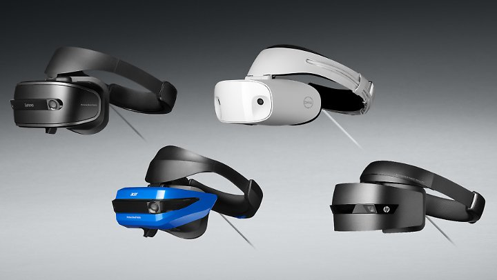 """Mehrere Hersteller präsentieren bereits Brillen für die """"Mixed-Reality-Plattform""""."""