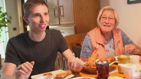 NAH DRAN!! - Ihre Geschichte bei n-tv: Wohnungsnot führt Studenten und Senioren zusammen