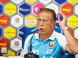 Rumänien schwach, Coach pöbelt: Fans und Medien mögen Daum nicht mehr