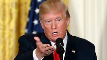 Nach Nordkoreas Atomwaffentest: Trump lästert über Südkorea und China