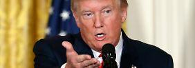 Reaktion auf Kim Jong Uns H-Bombe: Trump will Waffen nach Südkorea liefern