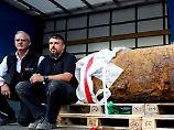 Frankfurt atmet auf: Fliegerbombe erfolgreich entschärft