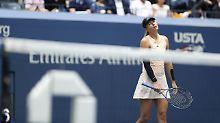 Erstes Grand-Slam nach Sperre: Glückliche Scharapowa verpasst Viertelfinale