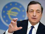Mario Draghi muss auf den festen Euro achten.