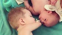 Herzerwärmendes Video: So geht Geschwisterliebe