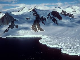 Marguerite Bay an der Südwestküste der Antarktischen Halbinsel.