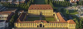 Der Stein des Anstoßes: das Osnabrücker Schloss