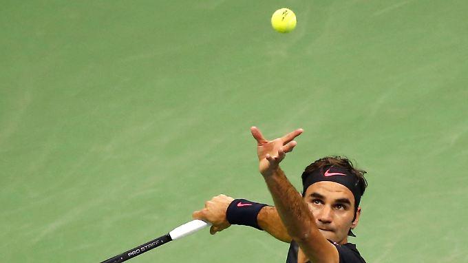Roger Federer ist aus den US Open ausgeschieden.
