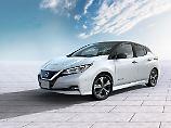Nissan hat dem neuen Leaf eine gefälligere und dennoch recht eigenständige Form gegeben.