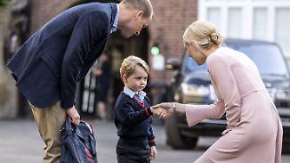 Royaler Abc-Schütze: Prinz George geht jetzt zur Schule