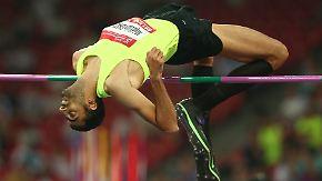 Leistungssport im Kriegsgebiet: Syrischer Athlet springt für die Hoffnung