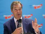 """Nigel Farage bei der AfD: """"Wenn einer von unseren so reden könnte"""""""