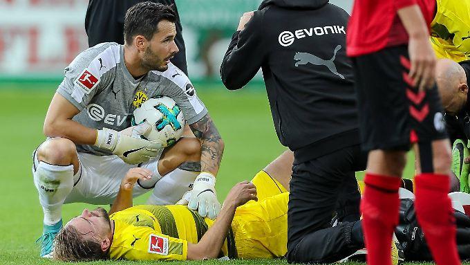 Marcel Schmelzer droht direkt nach seinem Comeback wieder lange auszufallen.