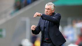Nicht glücklich: Carlo Ancelotti.