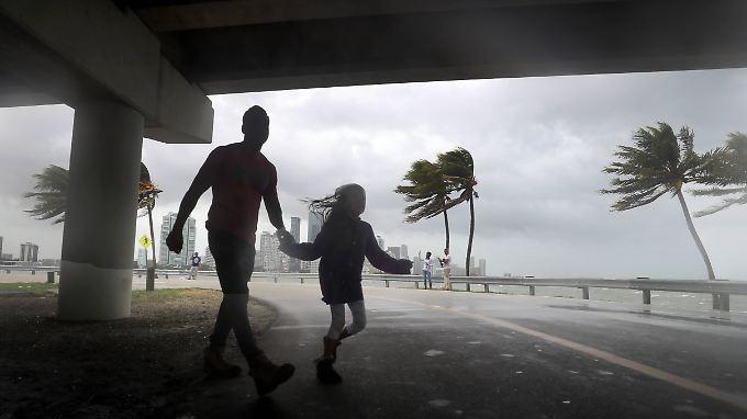 Ein Drittel der Bevölkerung Floridas muss sein Zuhause verlassen.