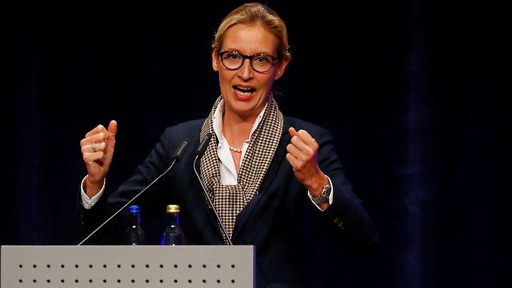 Alice Weidel - hier bei einer Wahlkampfveranstaltung in Pforzheim.