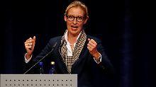 AfD-Spitzenkandidatin dementiert: Rassistische E-Mail von Alice Weidel?