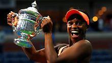 Überraschungssieg bei US Open: Stephens gewinnt amerikanisches Finale