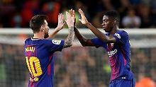 Presse lästert über Real: Messi brilliert, Dembélé begeistert