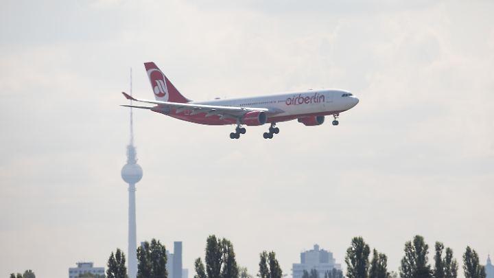 Hauptstadt-Airline im Sinkflug: Die Tage von Air Berlin als selbständiger Fluggesellschaft mit eigenem Streckennetz dürften gezählt sein.