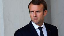 """""""Faulenzer, Zyniker, Extreme"""": Macron beschimpft Reformgegner"""
