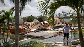 Optimismus und Galgenhumor: Florida kommt nach dem Hurrikan langsam auf die Beine