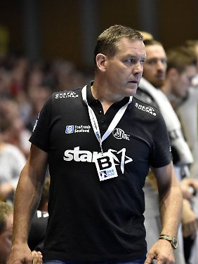 Alfred Gislason trainiert den THW Kiel seit 2008.