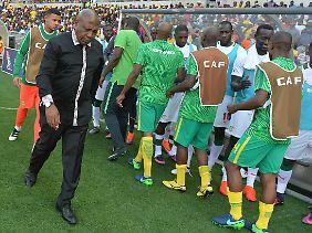 Südafrika und Senegal treffen erneut aufeinander.