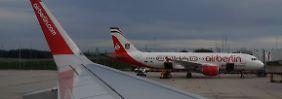 Auch Eurowings betroffen: Air Berlin lässt weitere Flüge ausfallen