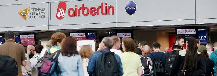 """Illegaler """"wilder Streik"""" bei Air Berlin: Piloten schaden Kunden und Verhandlungen"""
