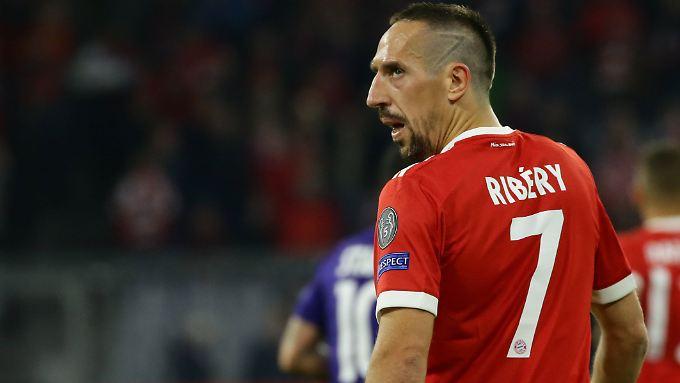 """""""Das ist nicht okay. Darüber werden wir sprechen"""": Franck Ribéry."""