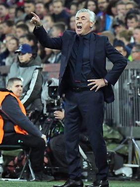 Nicht alle in München verstehen seine Personalpolitik: Carlo Ancelotti.