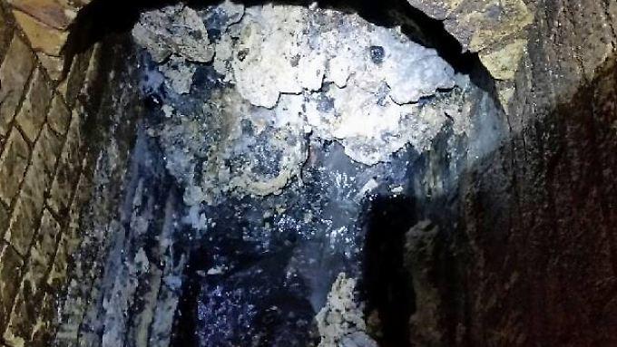 Im Londoner Stadtmuseum sind Reste jenes legendären Fettklopses zu sehen, der 2017 in der Kanalisation entdeckt wurde.
