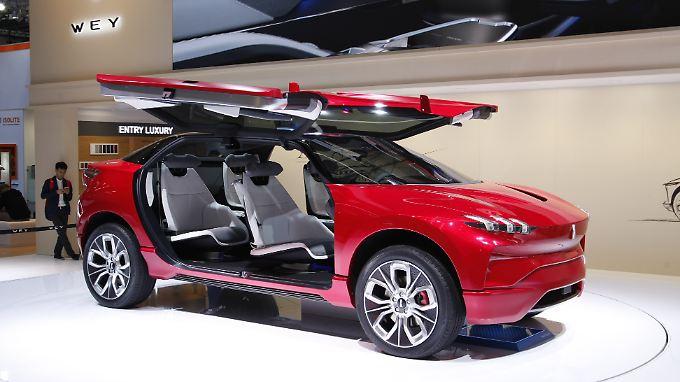 Mit dem XEV gibt der chinesische Premiumhersteller Wey einen Ausblick, wie er in den kommenden Jahren der deutschen Konkurrenz in die Parade fahren möchte.