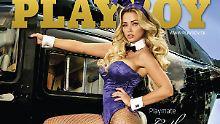 Wiedersehen im Playboy: Cathy Lugner lässt die Hüllen fallen