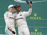 Valtteri Bottas und Lewis Hamilton verstehen sich - auch ein Grund für Mercedes, den Vertrag des Finnen zu verlängern.