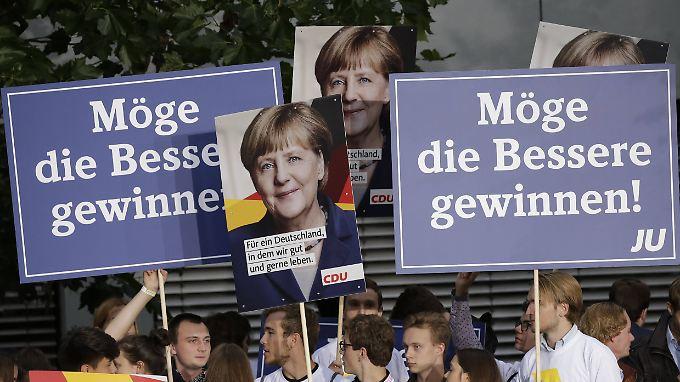 Merkel dürfte eine weitere Kanzlerschaft kaum zu nehmen sein - geht man nach derzeitigen Umfragen.