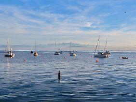 Morgenstimmung am See: Vor allem die Ruhe auf und am Wasser schätzen Einheimische und Touristen.