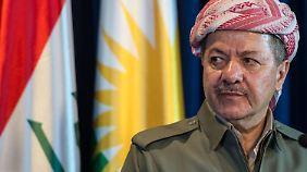 Kurdenpräsident Massud Barsani.