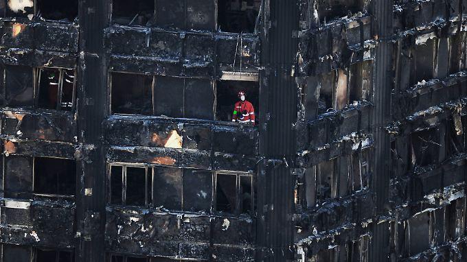 Das Flammen-Inferno im Grenfell Tower kostete mehr als 80 Menschen das Leben.