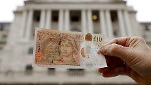 Jane Austen statt Charles Darwin: Neuer 10-Pfund-Schein ist im Umlauf