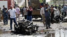 Mindestens 36 Tote - auch Iraner: IS-Terroranschlag erschüttert Süden Iraks