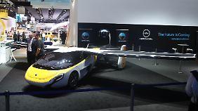 Bereits in den nächsten zwei bis drei Jahren will Aeromobil sein Flugauto in den Verkehr bringen.