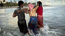 Streit um Rohingya-Flüchtlinge: Myanmar provoziert Bangladesch