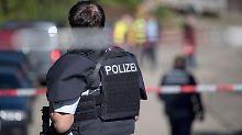 Sechsjährigen Sohn erschossen: Täter von Villingendorf bleibt verschwunden