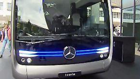 Future Bus und E-Bikes: Auf der IAA sorgen nicht nur PS-Geschosse für Gesprächsstoff